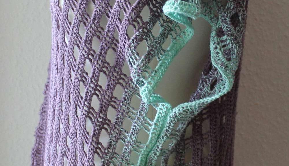 Aus zwei Schals wird eine Tunika | AnneluM