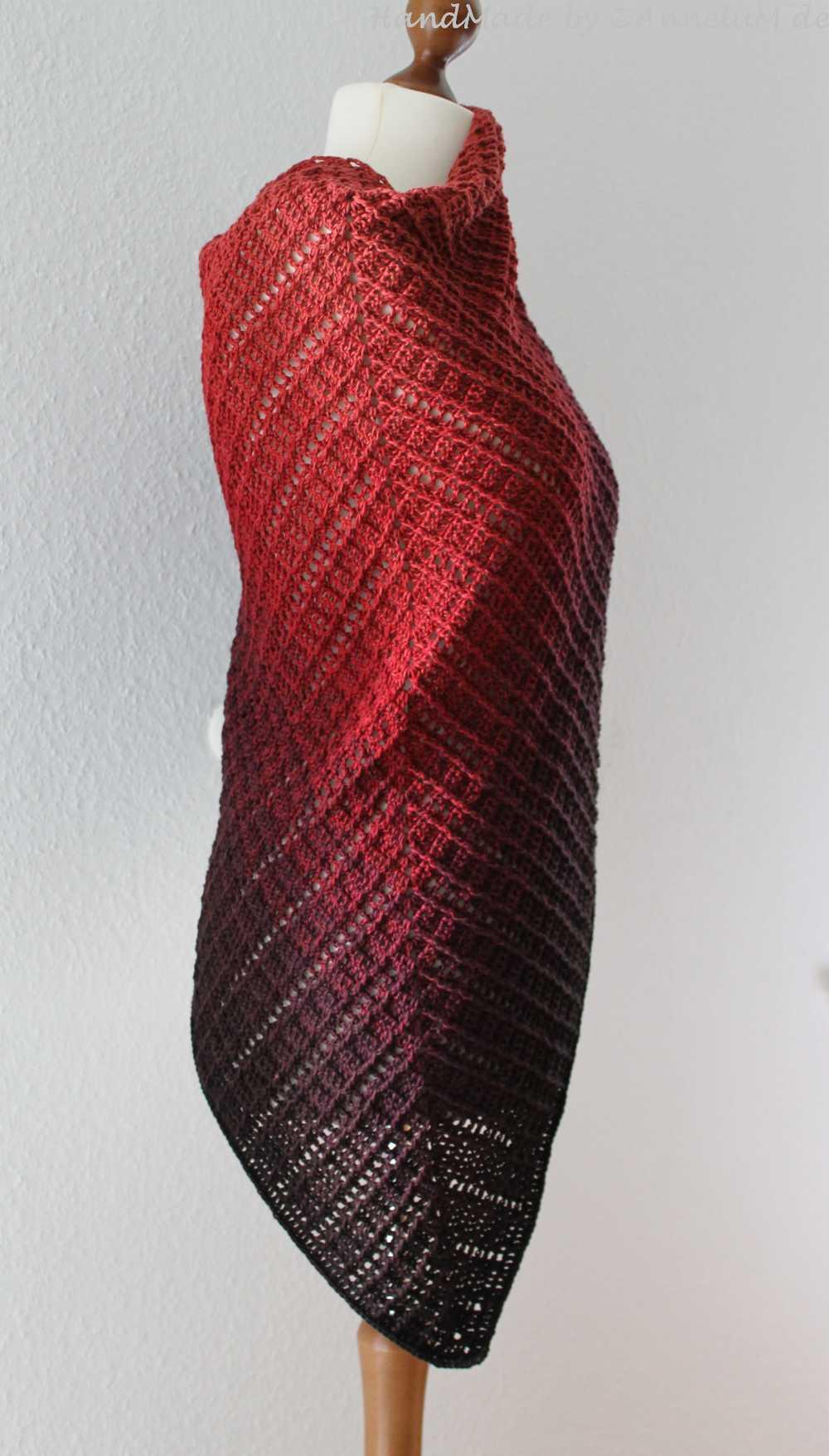 Tuch Fareth - Handmade by AnneluM - Anleitung von Jasmin Räsänen