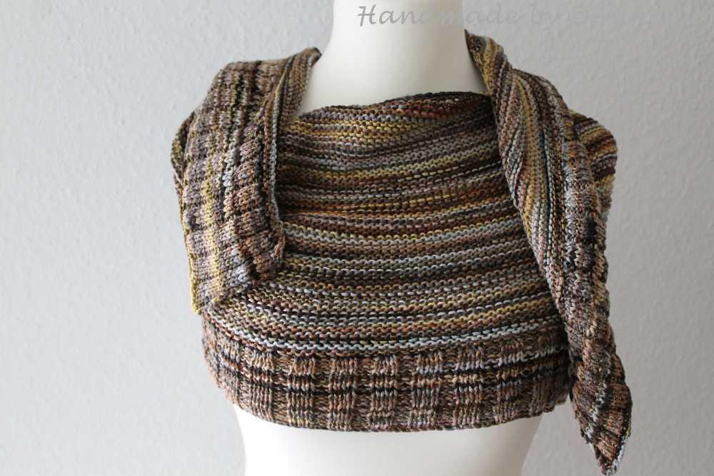 Halbmondtuch Handmade by AnneluM
