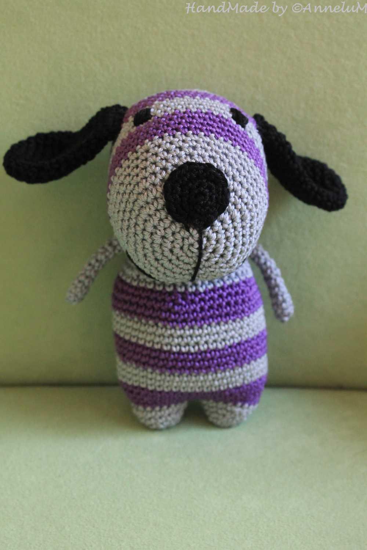 Samy, der Hund. Handgemacht von AnneluM