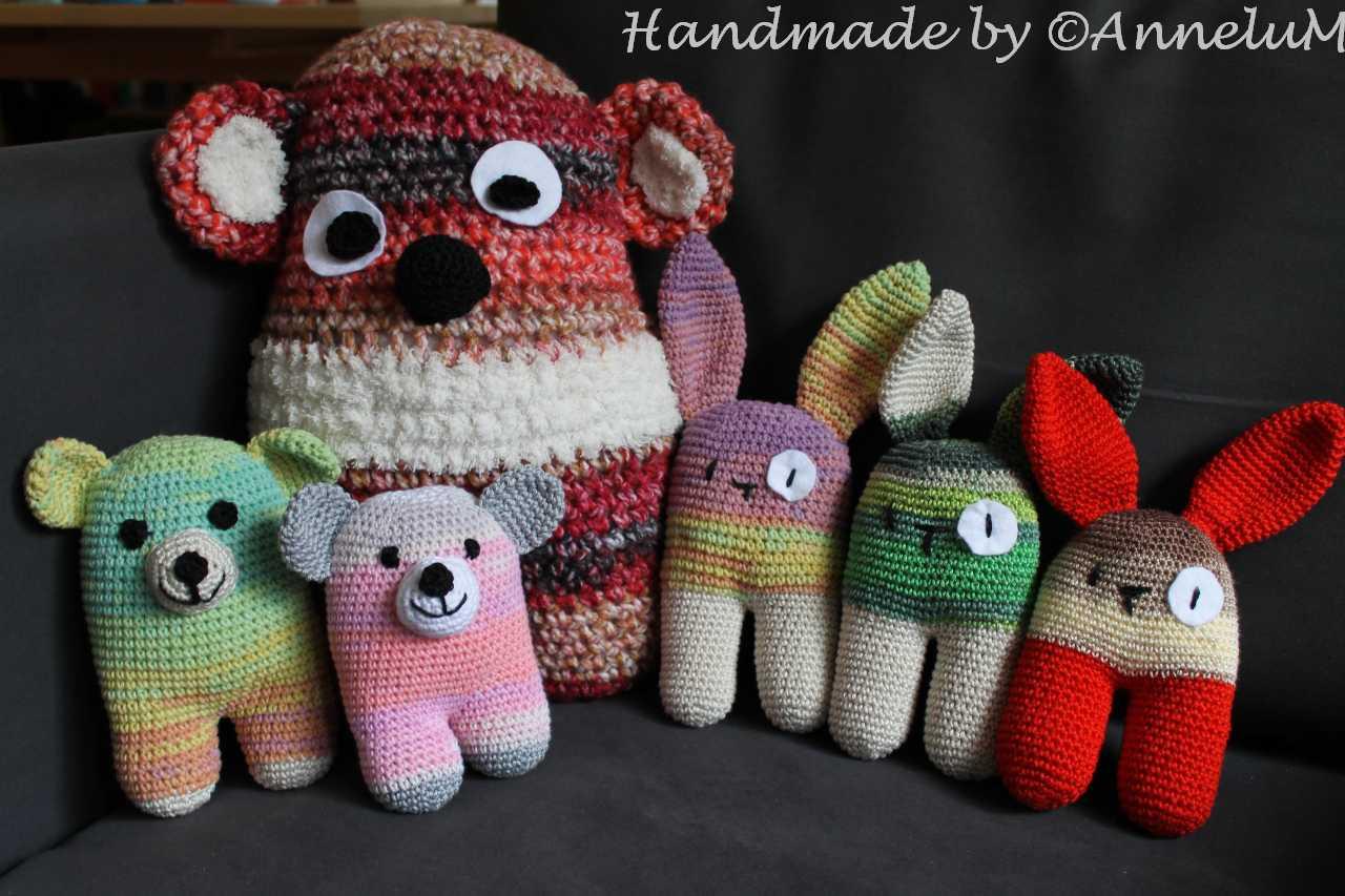 Amigurumi Handmade by AnneluM Anleitung www.lanukas.com