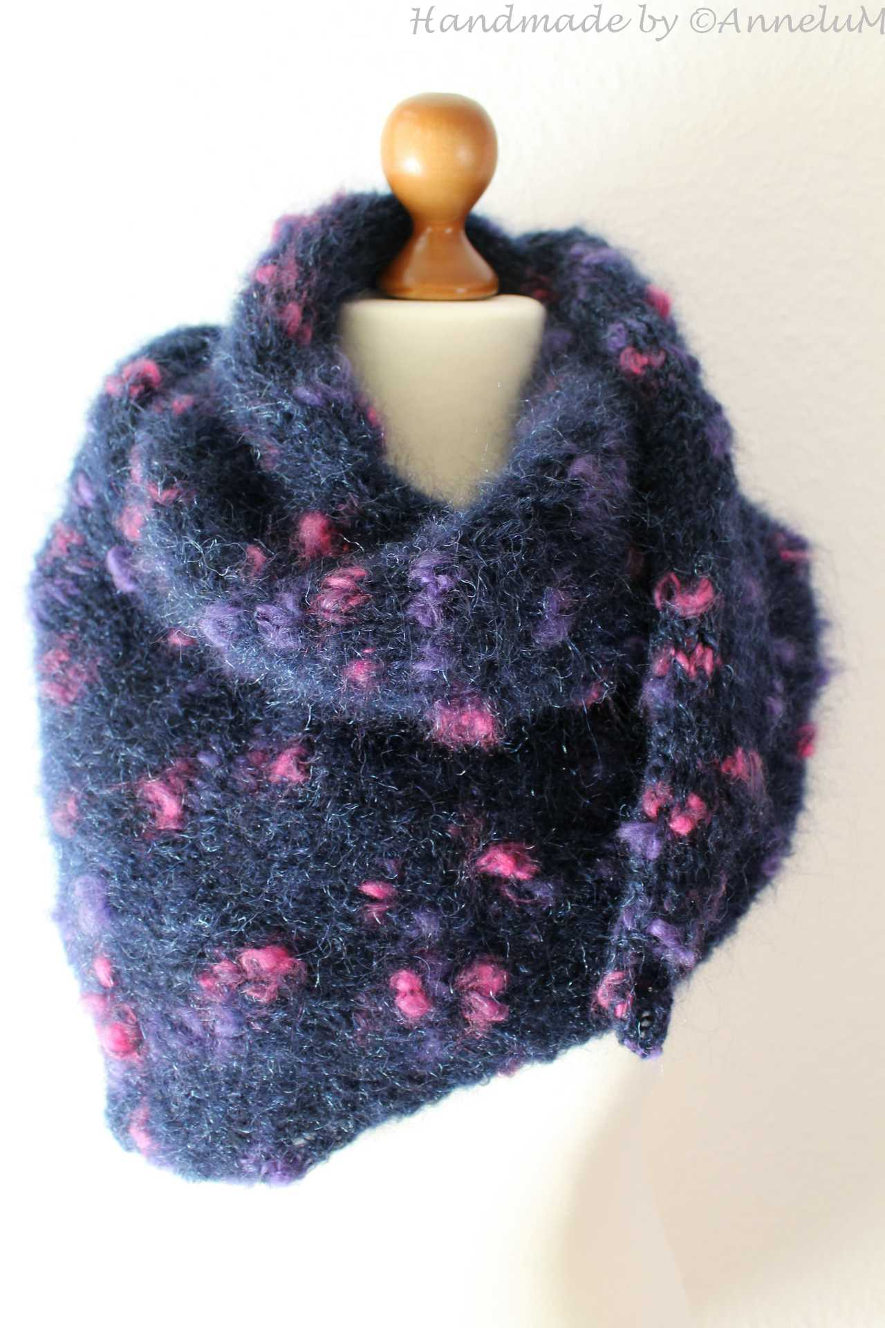Mohair Wolle 1987 Handmade by AnneluM