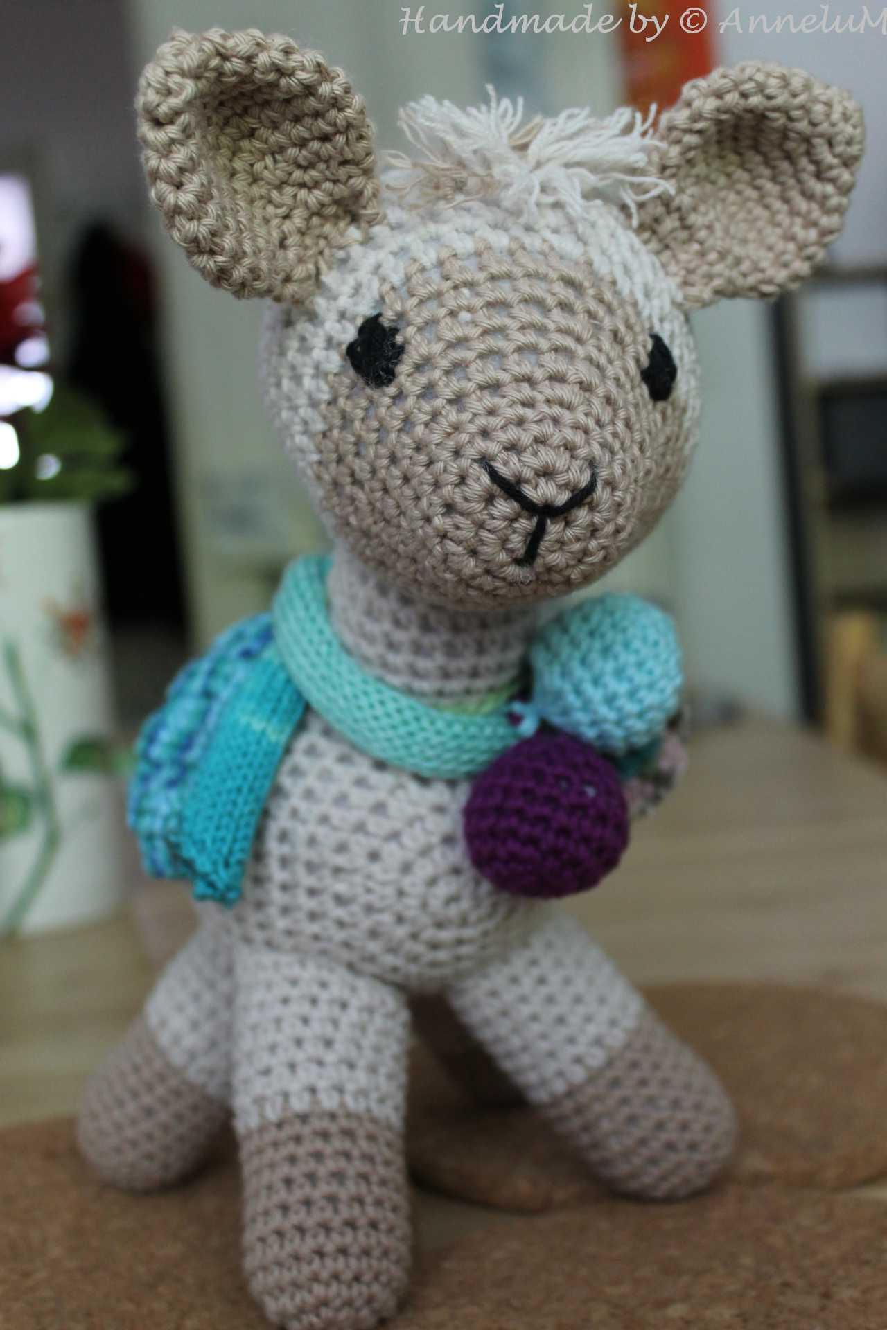 Lama Handmade by AnneluM