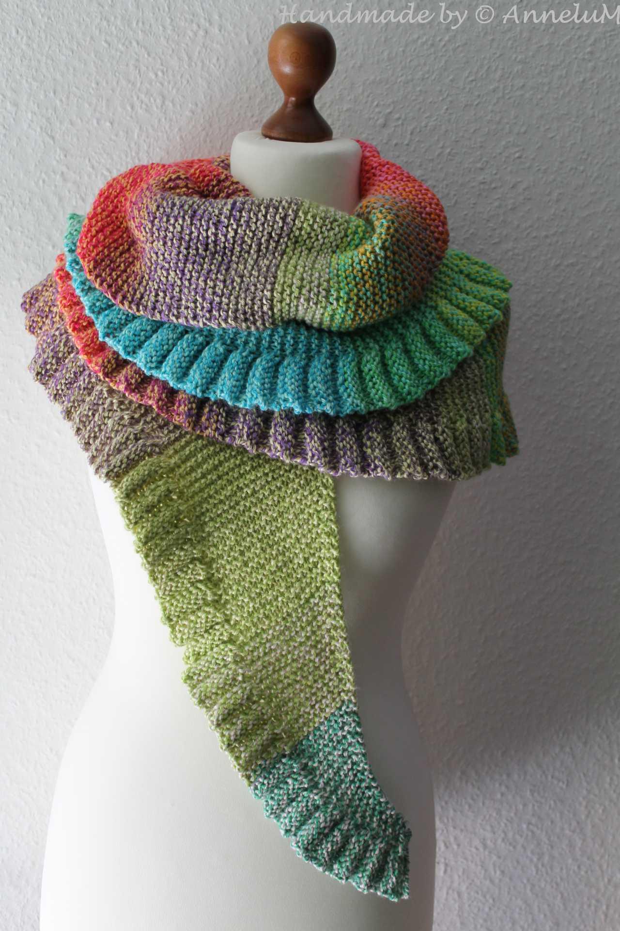Lollipop-Shawl Handmade by AnneluM