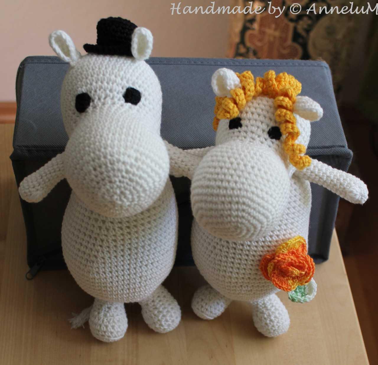Moomin Handmade by AnneluM