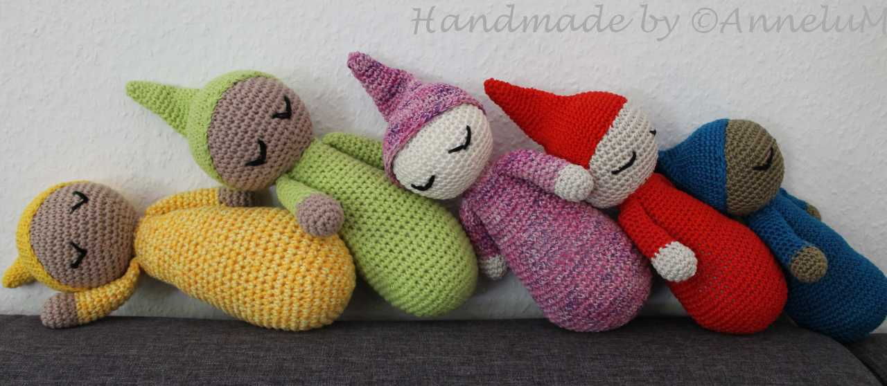 Sleepy Head - Handmade by AnneluM, Lanas y Ovillos