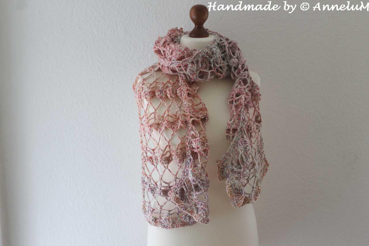 Vaire Schal Handmade by AnneluM