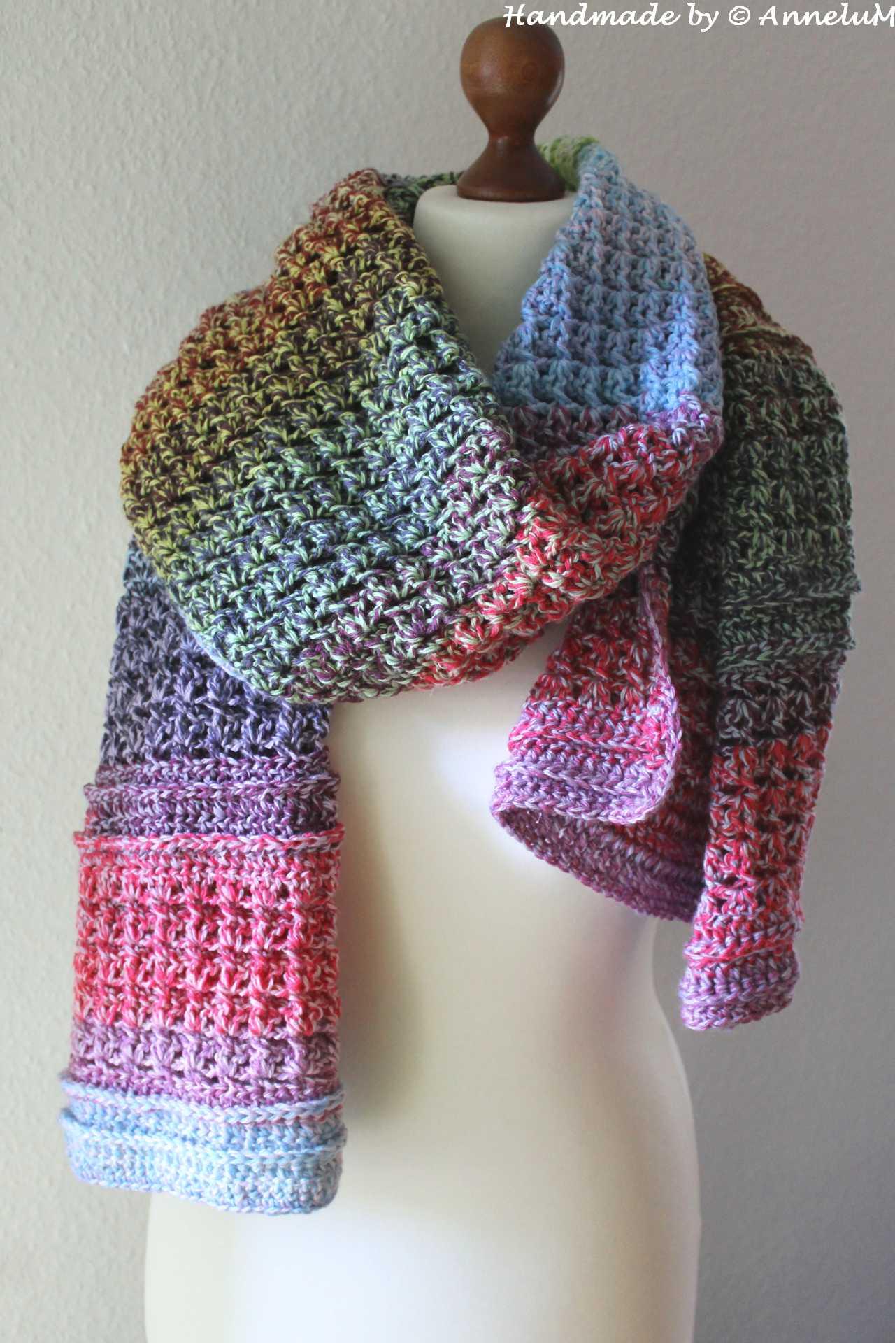 Pilvinen Schal Handmade by AnneluM