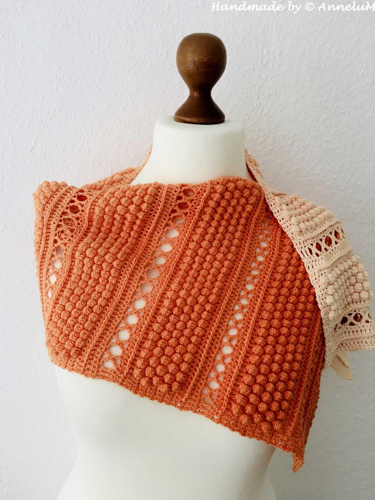 Kuplatie-Schal Handmade by AnneluM