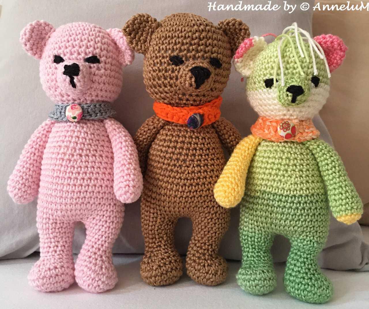 Cuddle me Bear Handmade by AnneluM