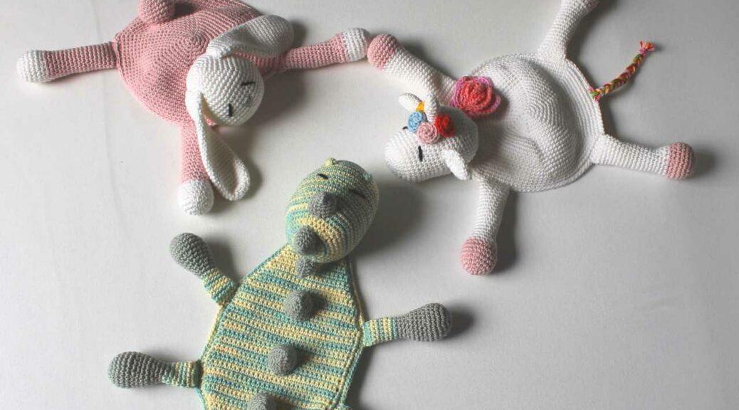 Schmusedecken von PifPaf Handmade by AnneluM